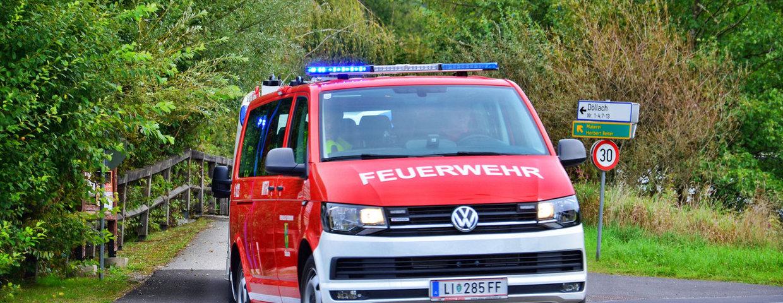 Gemeinschaftsübung der Feuerwehren Lassing, Döllach und Aigen